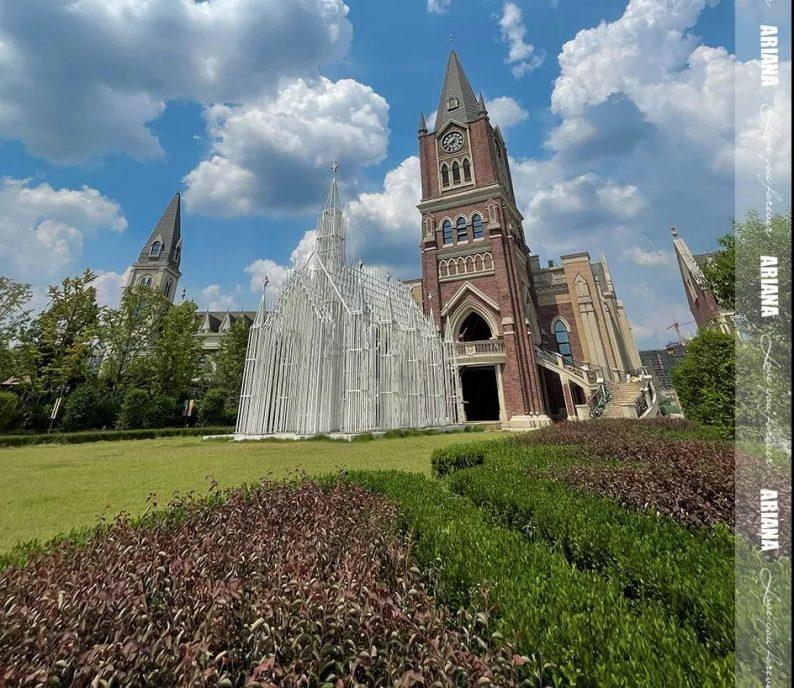 婚礼堂发布:城堡建筑+法式庄园,湖南艾利安娜摩玛礼堂  第7张