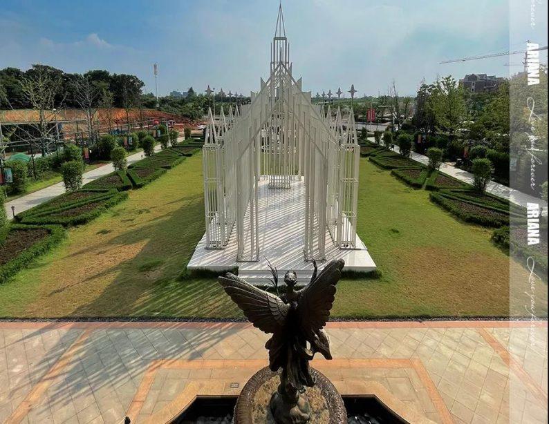 婚礼堂发布:城堡建筑+法式庄园,湖南艾利安娜摩玛礼堂  第8张