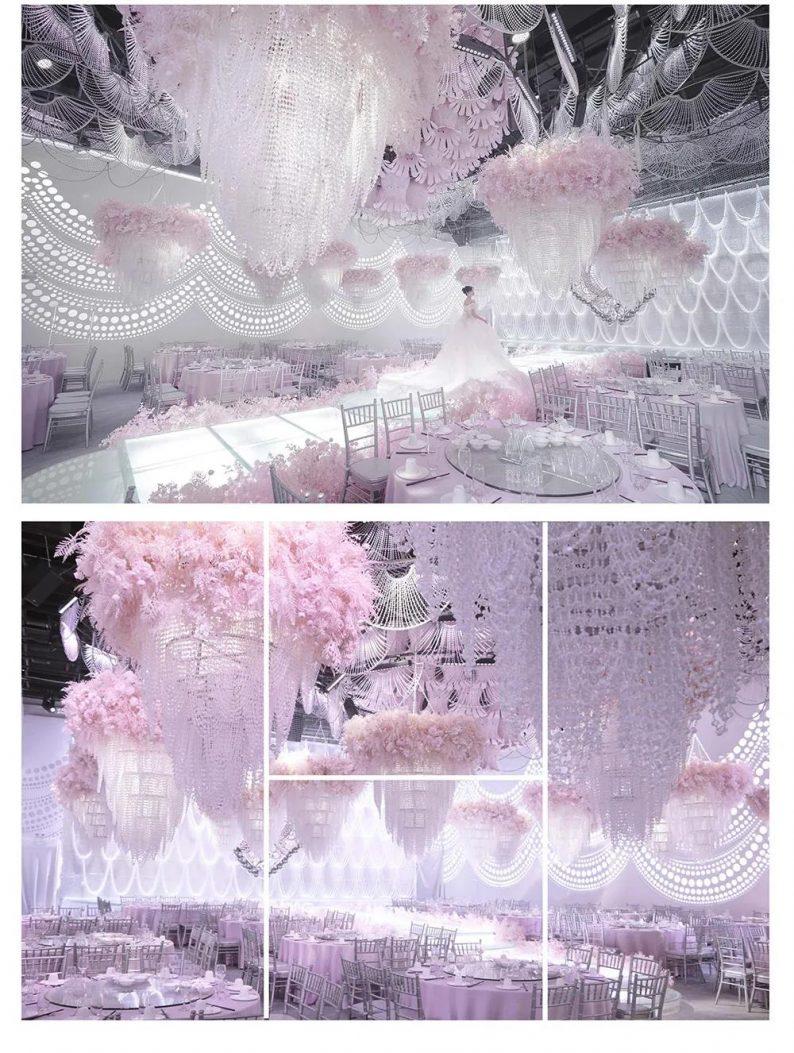 婚礼堂发布:蔡上操刀!好友缘国宴梦想厅设计解读  第8张
