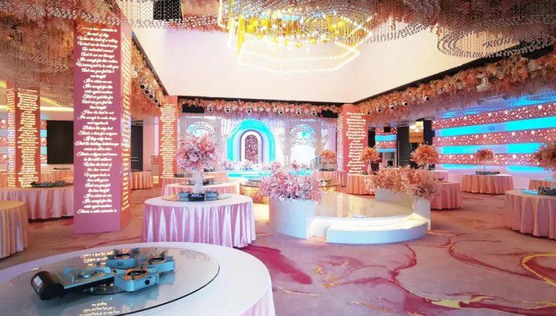 婚礼堂发布:2000平米!湘西北首家高端主题婚礼酒店  第7张