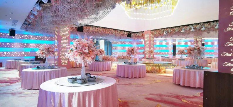 婚礼堂发布:2000平米!湘西北首家高端主题婚礼酒店  第8张