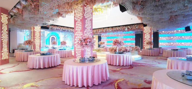 婚礼堂发布:2000平米!湘西北首家高端主题婚礼酒店  第9张