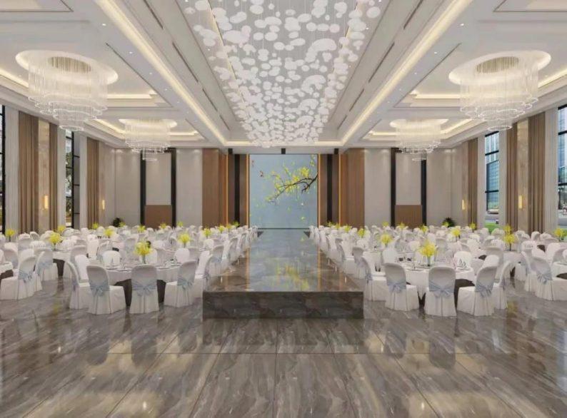 婚礼堂发布:绵竹即将新开一家高端宴会中心!  第4张