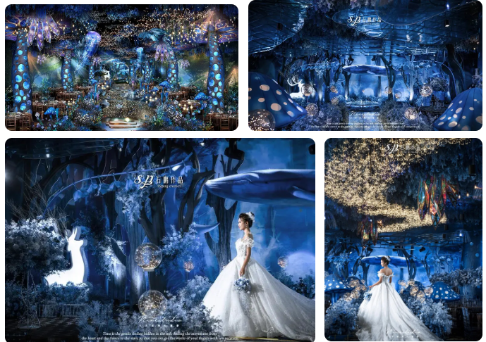 婚礼堂发布:3大主题厅!艾斯维尔宴会中心  第9张