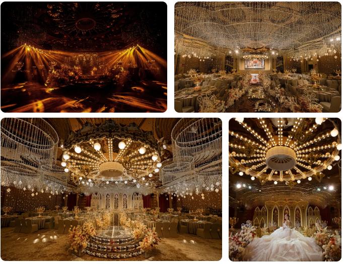 婚礼堂发布:5万方!湖北大型连锁餐饮打造宴会厅  第6张