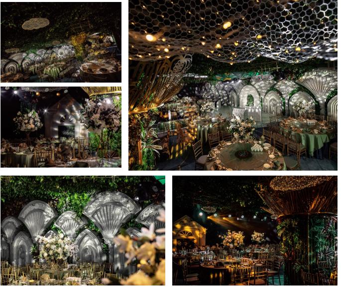 婚礼堂发布:5万方!湖北大型连锁餐饮打造宴会厅  第8张