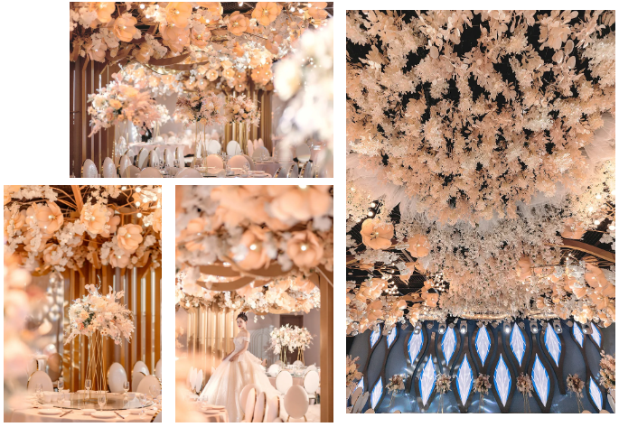 婚礼堂发布:5万方!湖北大型连锁餐饮打造宴会厅  第10张