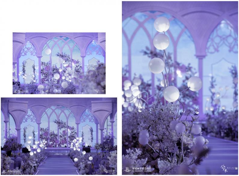 婚礼堂发布:8000平8大宴会厅!宁波婚礼堂产业的先行者「罗曼丽舍」  第8张