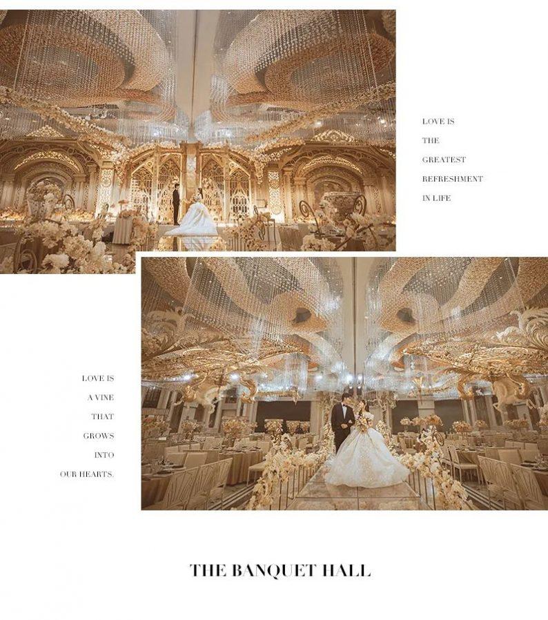 婚礼堂发布:花嫁丽舍最新宴会厅《天空之城》  第13张