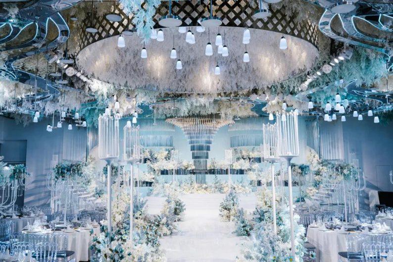 婚礼堂发布:徐丹设计!南京皇家花园【塞纳厅】全新推出  第1张