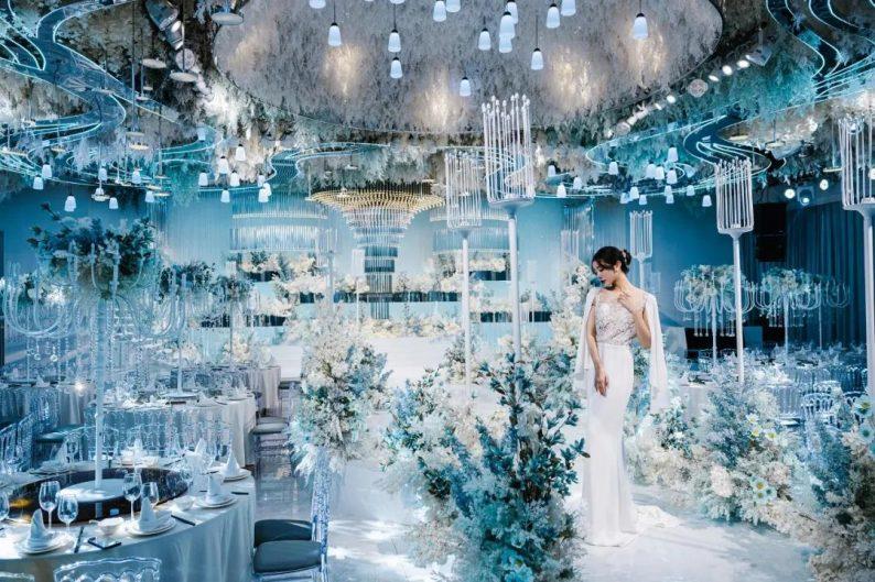 婚礼堂发布:徐丹设计!南京皇家花园【塞纳厅】全新推出  第10张