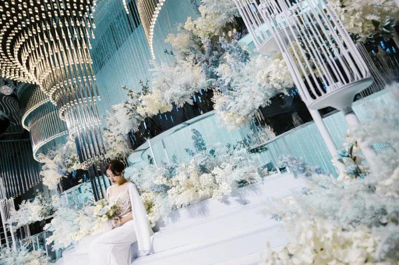 婚礼堂发布:徐丹设计!南京皇家花园【塞纳厅】全新推出  第12张