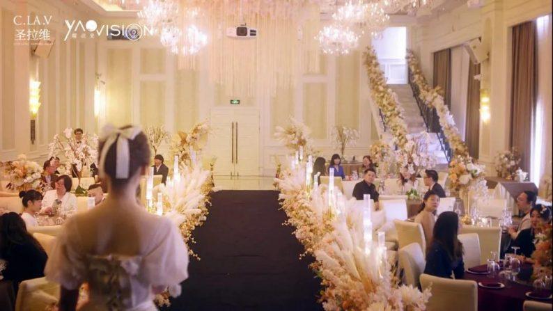 婚礼堂发布:《独宠》取景地!上海圣拉维「凡尔赛花园」  第5张