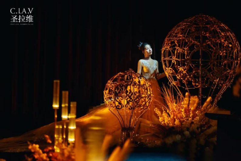 婚礼堂发布:《独宠》取景地!上海圣拉维「凡尔赛花园」  第8张