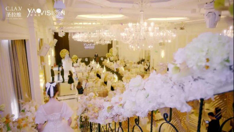 婚礼堂发布:《独宠》取景地!上海圣拉维「凡尔赛花园」  第10张