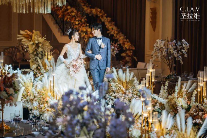 婚礼堂发布:《独宠》取景地!上海圣拉维「凡尔赛花园」  第12张