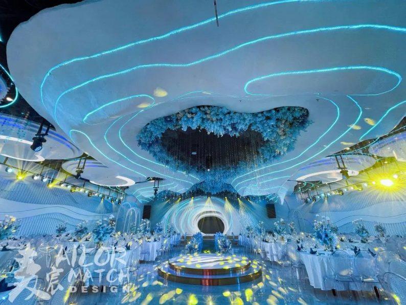婚礼堂发布:总投资1亿!重庆两江宴会中心惊艳面世  第9张