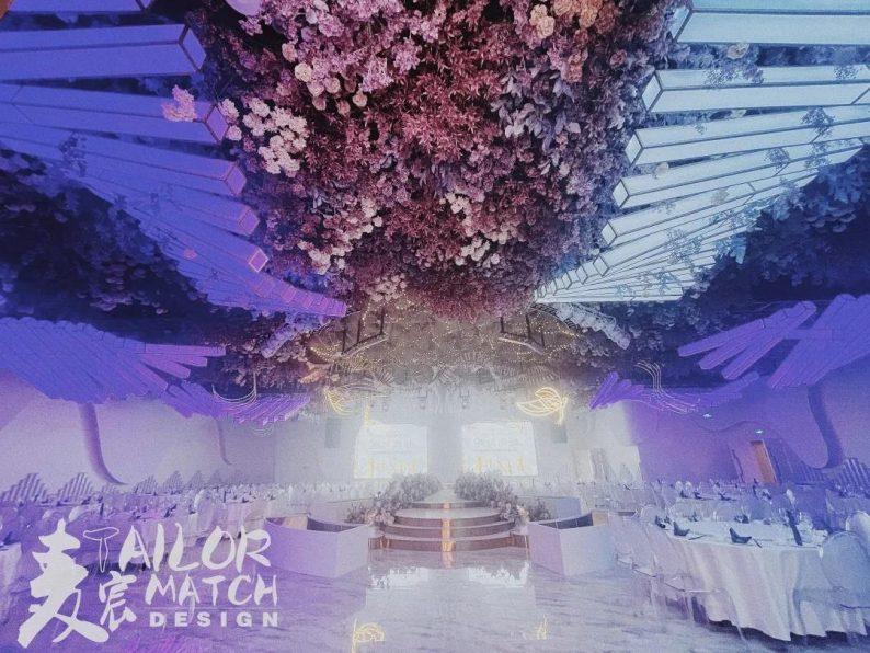 婚礼堂发布:总投资1亿!重庆两江宴会中心惊艳面世  第12张