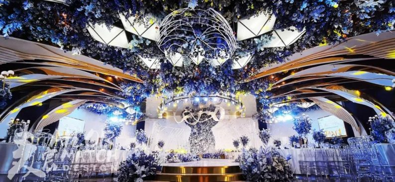 婚礼堂发布:总投资1亿!重庆两江宴会中心惊艳面世  第13张
