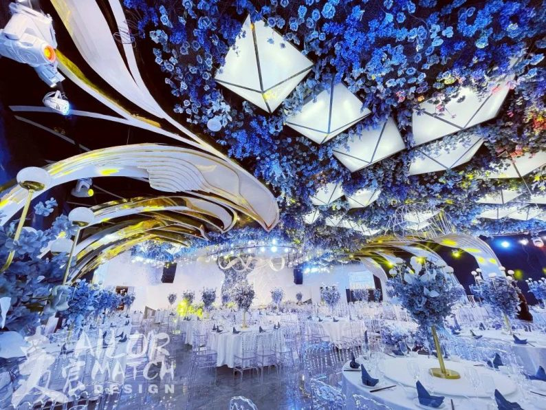 婚礼堂发布:总投资1亿!重庆两江宴会中心惊艳面世  第14张