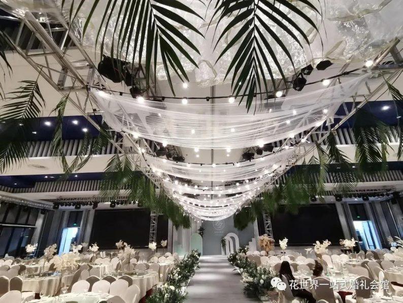 婚礼堂发布:扬州花世界·繁花岛一站式婚嫁会馆  第5张