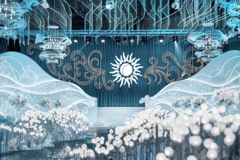 婚礼堂发布:极光冰川!御鉴礼宴新厅亮相  第1张