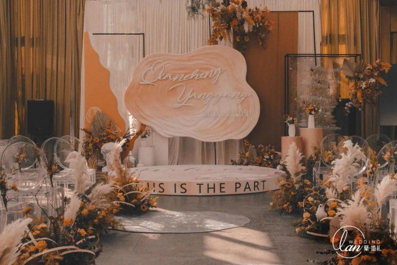 今秋最火的3种配色,让婚礼高级又好看!  第2张
