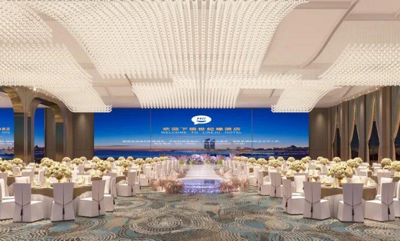 婚礼堂发布:投资超3亿!4.9万平超大规模一站式宴会酒店  第3张