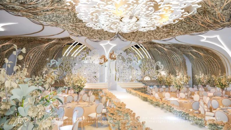 婚礼堂发布:4大宴会厅!江苏泰兴全新婚礼堂品牌